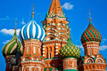 St. Basil's Cathedral in Moscow, Russia Royalty Free Stock Photo