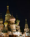 St. Basil's cathedral Stock Images