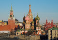 St basils cathedral kremlin moscow russia the and the historical museum red square Royalty Free Stock Image