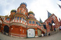 St basils cathedral in moscow on red square Royalty Free Stock Images