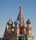 St basils cathedral photo of in moscow russia Royalty Free Stock Photography