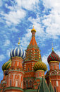 St Basils cathedral on Red Square Stock Photos