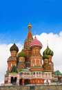 St Basils Cathedral in Red Square, Moscow. Stock Photo