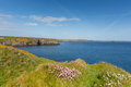St brides bay pembrokeshire west wales uk near st davids and in the coast national park the coast path passes Stock Photography