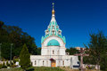 St. Catherine Russian Orthodox Church. Rome, Italy. Royalty Free Stock Photo