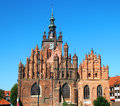 St catherine s church kosciol sw katarzyny oldest church gdansk poland Royalty Free Stock Photography