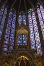 St. Chappelle Interior Royalty Free Stock Images