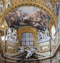 St. Charles Borromeo Combating the Plague Royalty Free Stock Photo