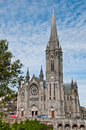 St colman s cathedral stunning in cobh ireland dramatic sky clouds Royalty Free Stock Photos