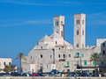 St. Corrado Cathedral in Molfetta. Apulia. Royalty Free Stock Photos