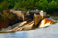 St Croix River Dam Royalty Free Stock Photography