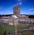 St Davids cathedral Royalty Free Stock Photo