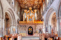 St davids cathedral wales uk june david s one of the oldest and most significant christian sites in on june in Royalty Free Stock Photos