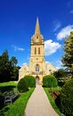 St davids church moreton in marsh pathway through the churchyard leading to cotswolds gloucestershire england uk western europe Stock Photo