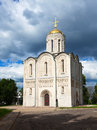 St. Demetrius Cathedral at Vladimir Stock Images
