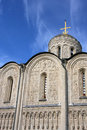 St. Demetrius' Cathedral in Vladimir Royalty Free Stock Photo