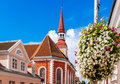 St elizabeth s church in parnu estonia lutheran named after russian empress abd built ad Stock Images