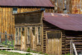 St elmo ghost town old storefronts in in the colorado rockies Royalty Free Stock Photography