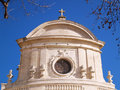 St.Etienne cathedral in Uzes Royalty Free Stock Image