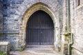 St Eustachius Church Door - Tavistock, England, UK Royalty Free Stock Photo