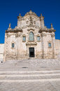 St. Francesco d'Assisi Church. Matera. Basilicata. Italy. Stock Images