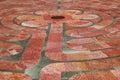 St. Francis Labyrinth Closeup