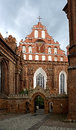 St francis and st bernard church in vilnius lithuania Royalty Free Stock Photo