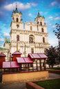 St. Francis Xavier Cathedral, Grodno Royalty Free Stock Photo