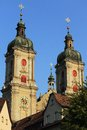 St. Gallen Abbey Royalty Free Stock Photos