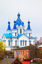 St. George Cathedral in Kamyanets-Podilsk Royalty Free Stock Images