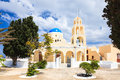St george church oia santorini greec ekklisia agios georgios greece europe Royalty Free Stock Photos
