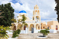 St george church oia santorini greec ekklisia agios georgios greece europe Royalty Free Stock Photo