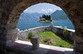 St. George island near Perast Royalty Free Stock Photo