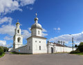St. George Monastery in Veliky Novgorod Royalty Free Stock Images