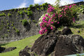 St george s fort grenada in west indies Royalty Free Stock Photo