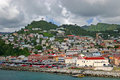 St. George's, Grenada, Harbor Royalty Free Stock Images