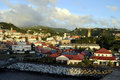 St george s grenada town in the west indies Royalty Free Stock Image