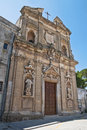 St. Giovanni Battista Church. Oria. Puglia. Italy. Stock Photography