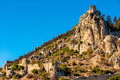 St. Hilarion castle. Kyrenia District, Cyprus Royalty Free Stock Photo