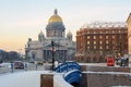 St isaac s cathedral petersburg russia january located on saint square Royalty Free Stock Photography