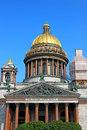 St isaac s cathedral in st petersburg reconstruction russia Royalty Free Stock Photo
