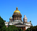 St isaac s cathedral in st petersburg on a sunny day Royalty Free Stock Image