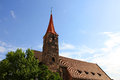 St jakob church in nuremberg the james bavaria germany Royalty Free Stock Images