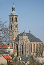 St. James church in Kutna Hora, Czech Republic Royalty Free Stock Photo