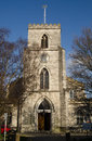 St james church poole view of the historic saint in dorset Royalty Free Stock Photo