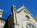 St john cathedral boise idaho the evangelist catholic was constructed in between and and the romanesque revival style building is Royalty Free Stock Photo