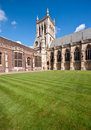 St john's college chapel in cambridge Stock Photo