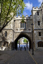 St. John's Gate in London Royalty Free Stock Photo
