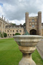 St Johns college cambridge Royalty Free Stock Photo