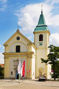 St josefskirche at kahlenberg in vienna wood austria Stock Images
